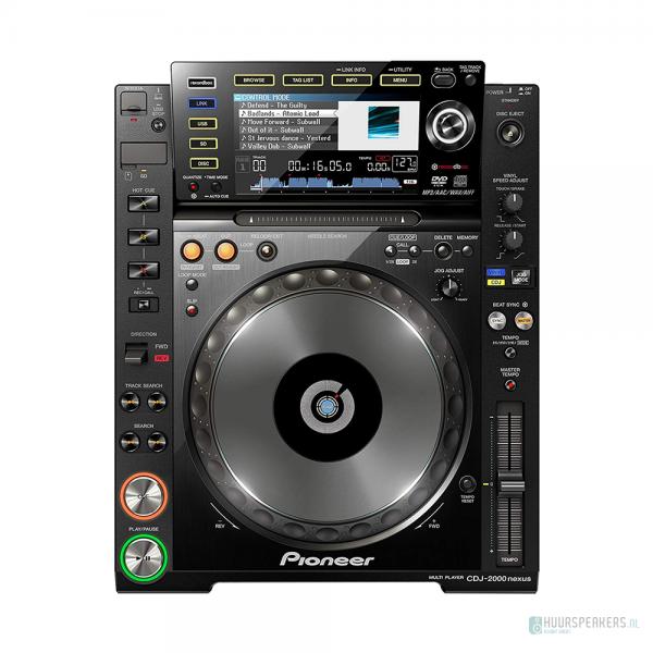 verhuur DJ set