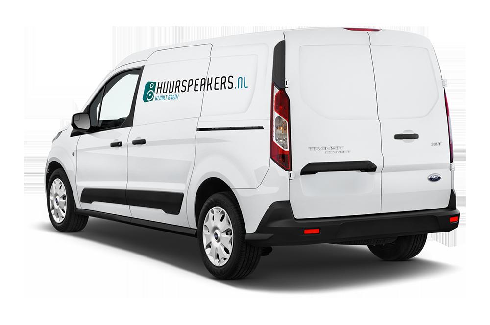 Huurspeakers Utrecht Bezorg & installatie service